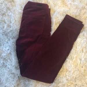 Kut from the Kloth Donna ankle skinny corduroy